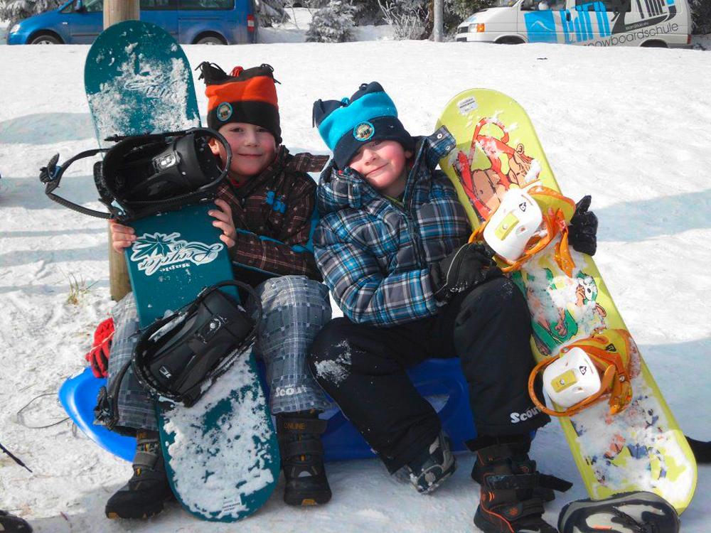 Snowboardkurs Galerie 76