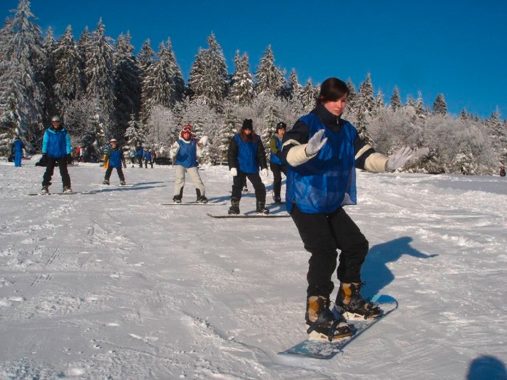 Snowboardkurs Galerie 75
