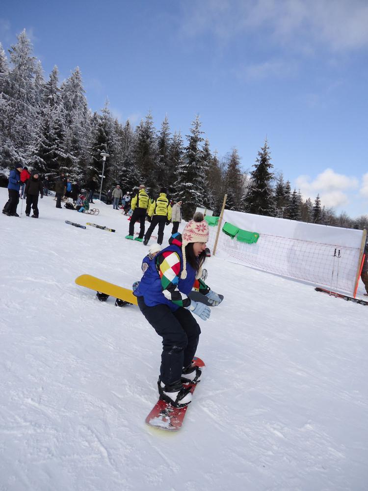 Snowboardkurs Galerie 73