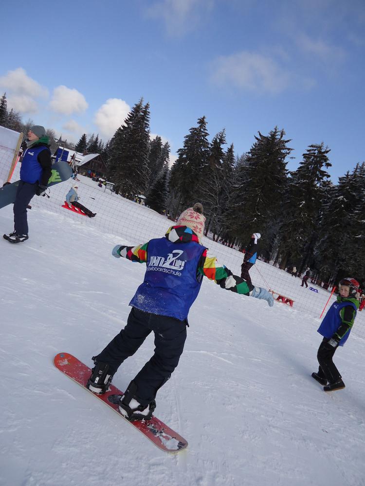 Snowboardkurs Galerie 72