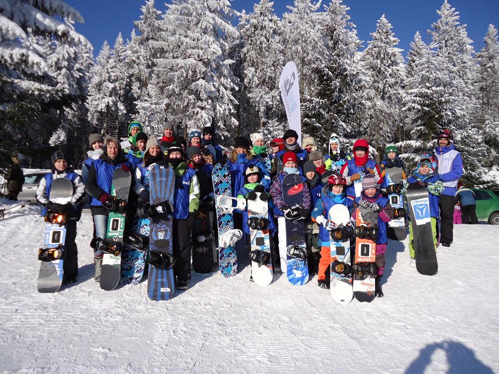 Snowboardkurs Galerie 69