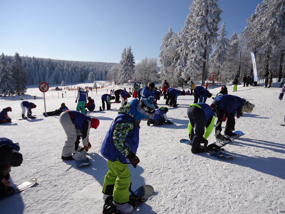 Snowboardkurs Galerie 67