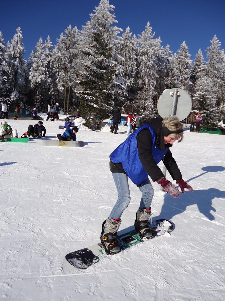 Snowboardkurs Galerie 66