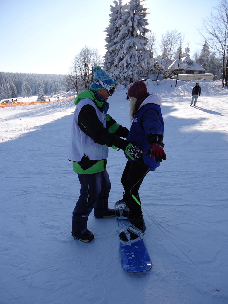 Snowboardkurs Galerie 64