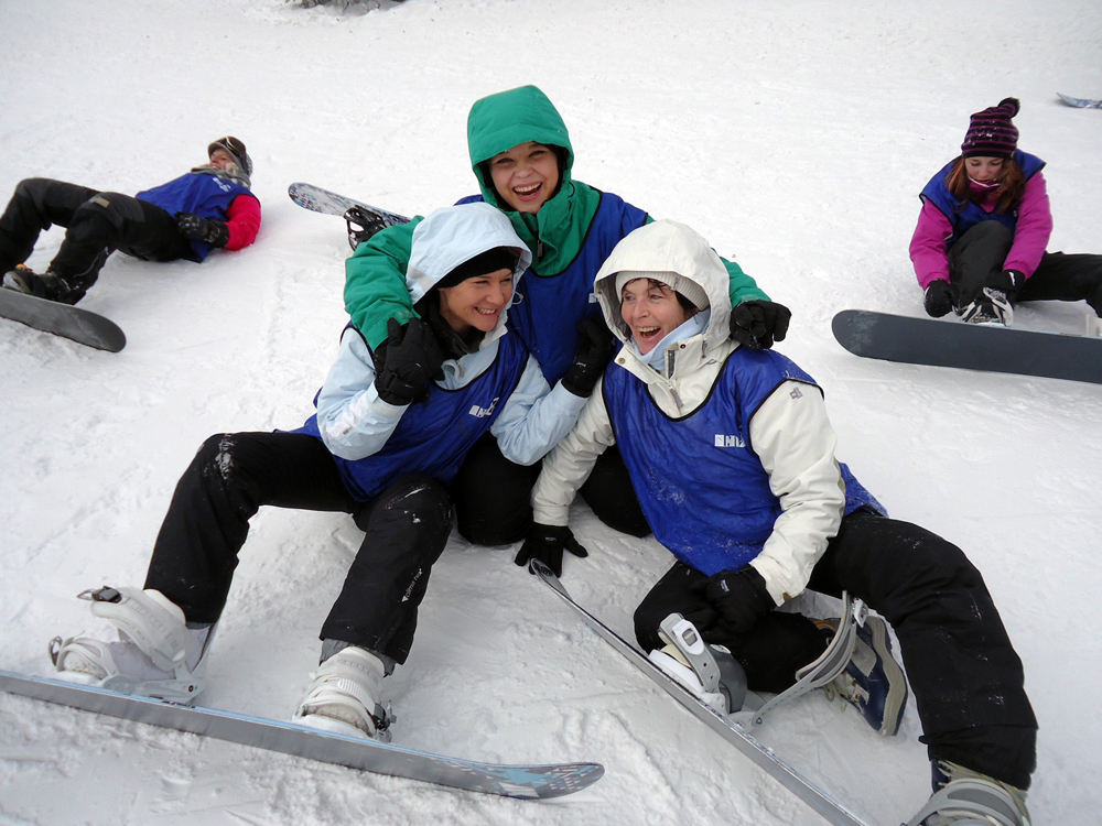 Snowboardkurs Galerie 62