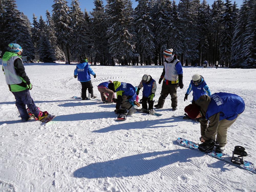 Snowboardkurs Galerie 58