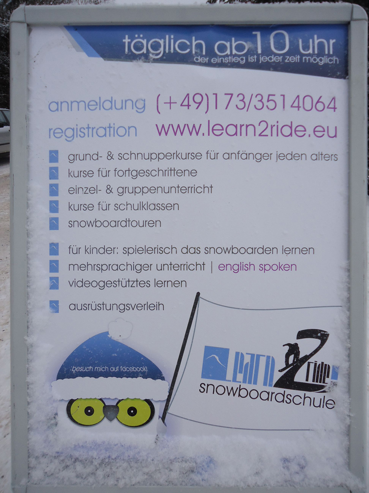 Snowboardkurs Galerie 50