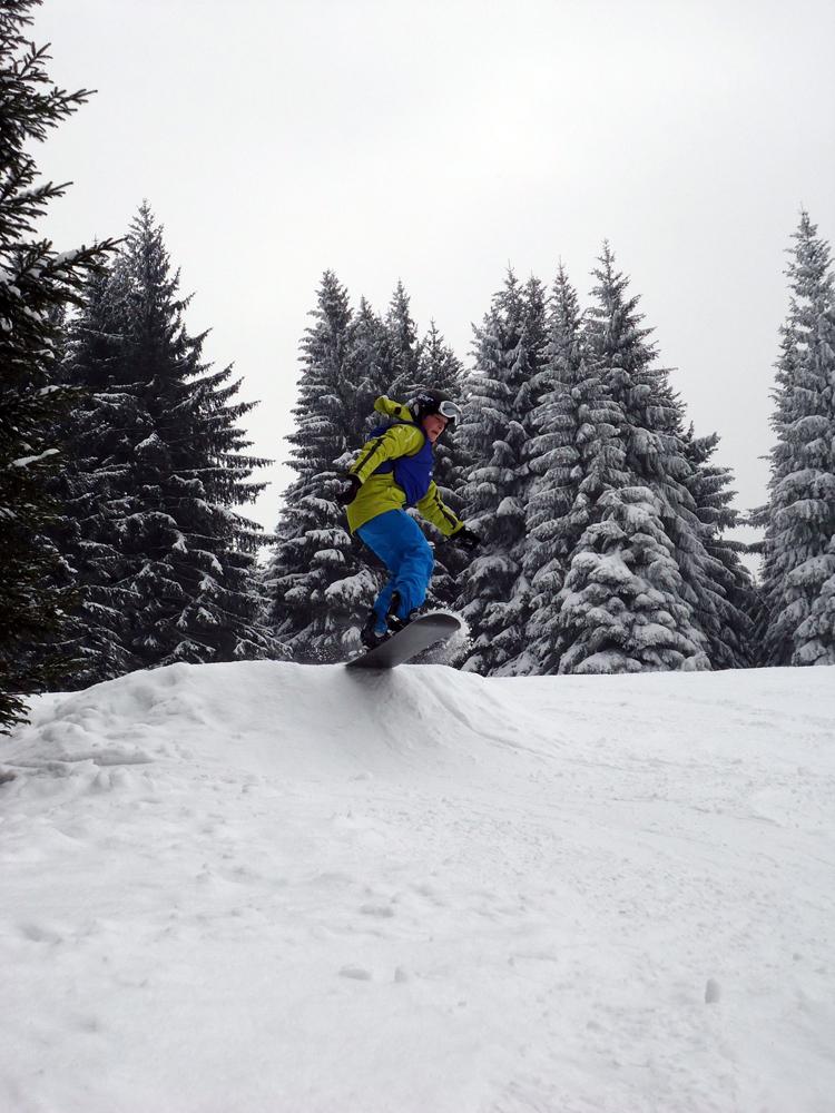 Snowboardkurs Galerie 49