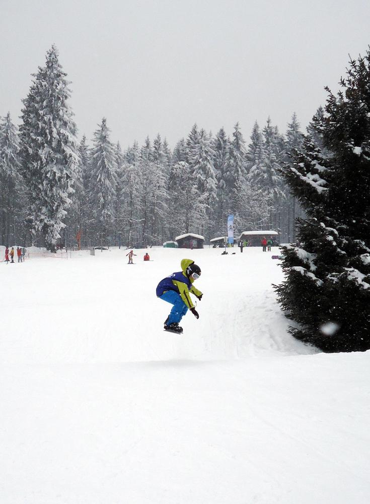 Snowboardkurs Galerie 48