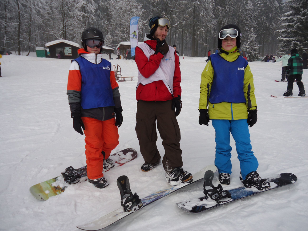 Snowboardkurs Galerie 47