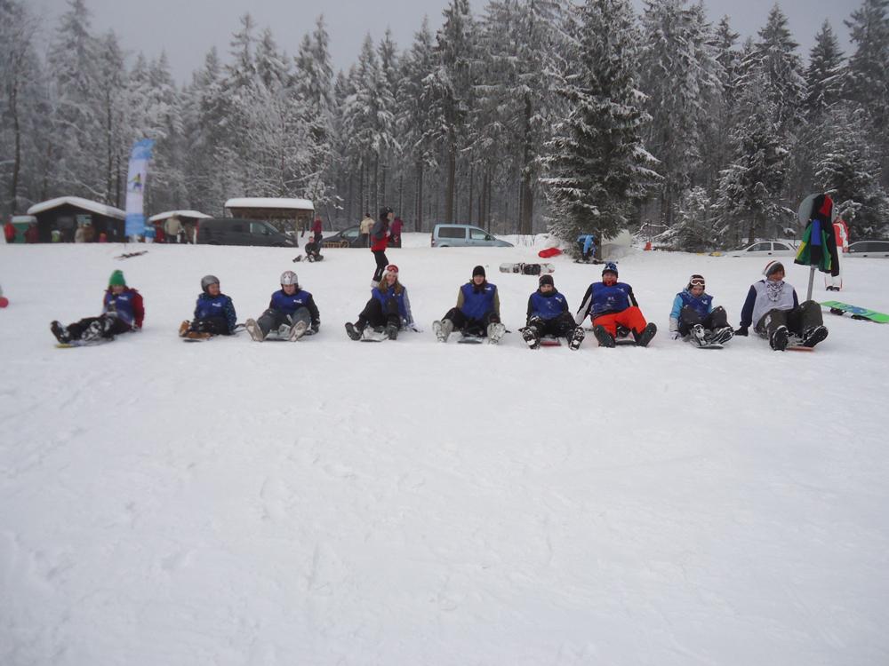 Snowboardkurs Galerie 45