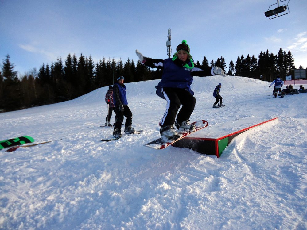 Snowboardkurs Galerie 42