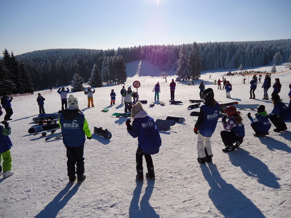 Snowboardkurs Galerie 33