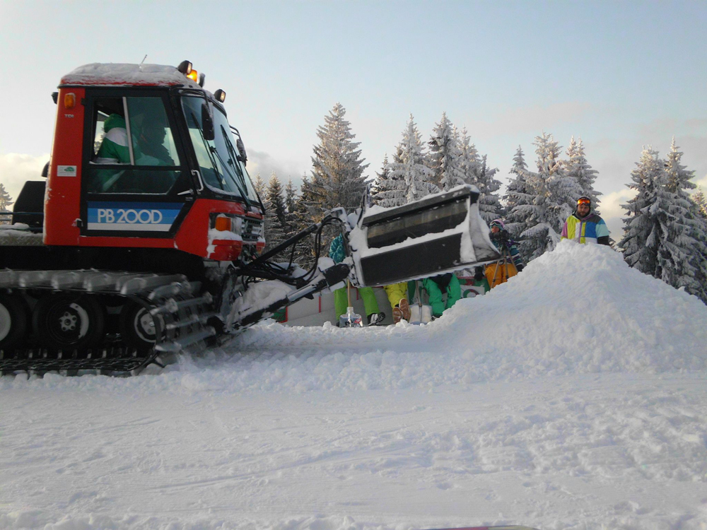 Snowboardkurs Galerie 17