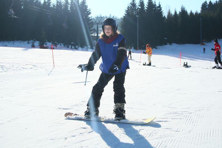 Snowboardschule in Oberhof - Grundkurs