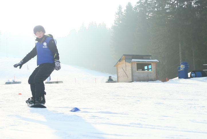Snowboardfahren lernen an einem Tag - Snowboardschule Oberhof