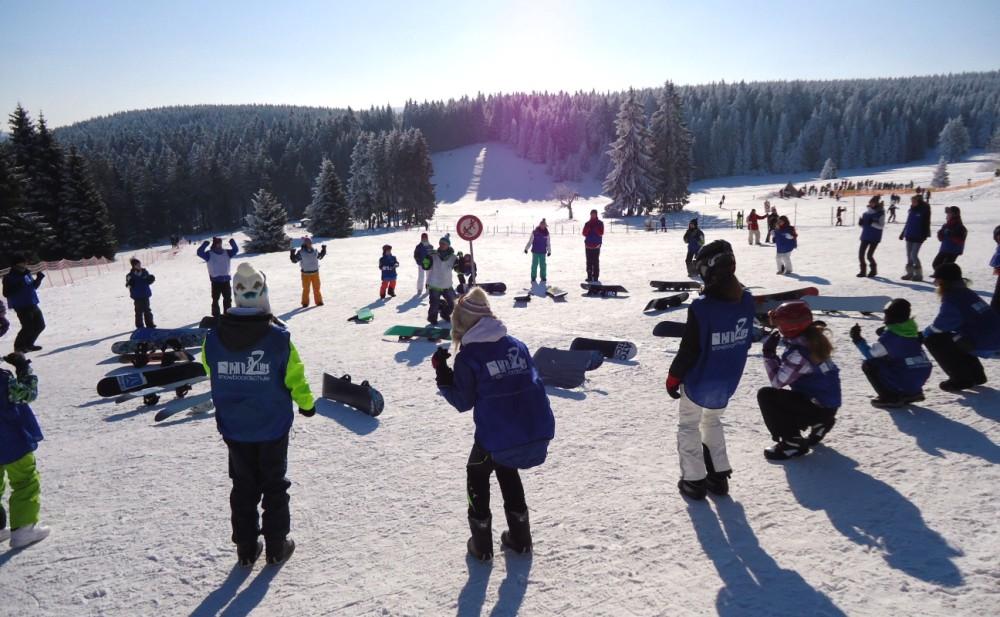 Snowboardgrundkurs - Snowboardschule Oberhof Learn2Ride