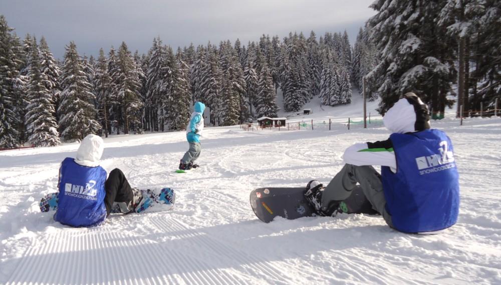 Snowboardschule Oberhof Privatkurs bei Learn2Ride Thüringen